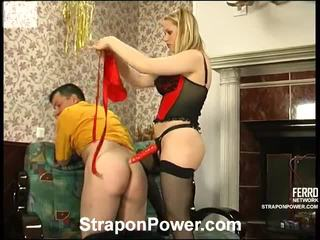 Susanna And Monty Strapon Abuse Movie