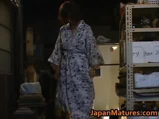 Chisato shouda úžasný zralý japonská