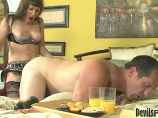 you strap-on you, female domination see, femdom