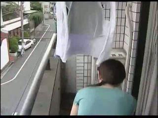 japanisch, hausfrau, milf