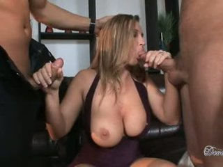 Hot Whore Devon Lee Pleases Two Hunks Tools Hard Enough To Fuck Her Wild