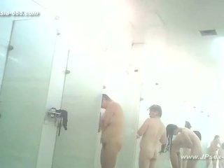 remaja, voyeur, mandi