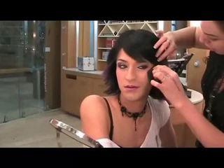 makeup, crossdresser, faccia