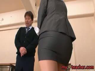 Kokomi sakura прекрасен азиатки мадама gets part6