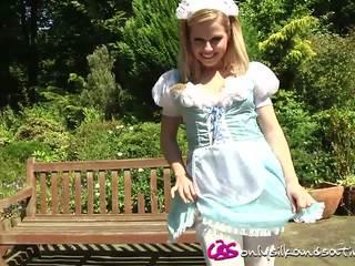 striptease, outdoor, maids
