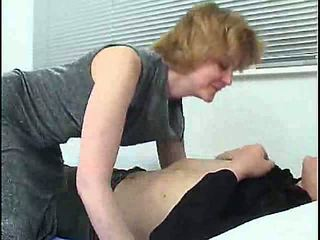 chambre à coucher, anal, maman