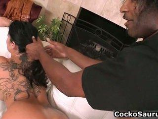 Kjærlighet suging svart cocks rør