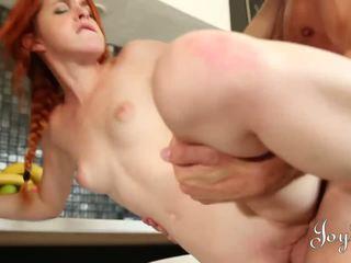 JOYBEAR Fit Fucking Redhead loves the cock