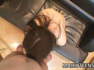 Mio yamauchi japānieši pusaudze satisfying viņai vāvere