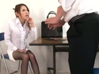 Pievilcīgas skolotāja masturbation un footjob, porno d1