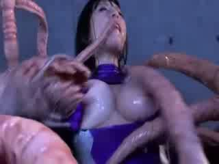 Halimaw tentacles jizzing malaki titty asyano pornograpya attacker lahat ang body