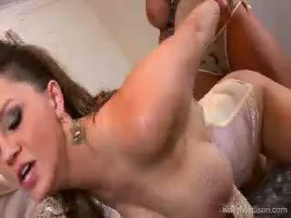 Stor titty lovers våt dröm cum sant med kelly madison