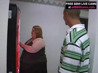 Åpen fitte bbw feit mage gigantisk pupper yells til pikk del 1