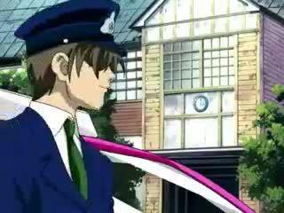 Taxi driver ravishing gebonden gal in anime