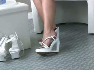लड़कियां, पैर बुत, close ups