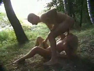 млад, woods, violated