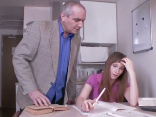 Tricky Old Teacher - Russian Teacher, HD Porn b8