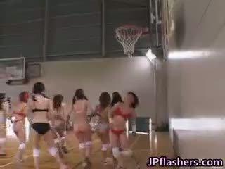 Grátis jav de asiática basquete players are part1