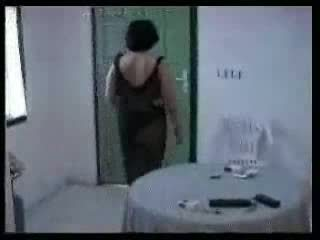 Arab mam en two jong boys zelfgemaakt video-