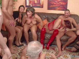 kumpulan seks, lama + young, gangbang