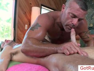 Excellent Gay Massage Sex Action