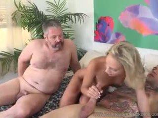 Emma Hix and Husband Fuck Her Young Stud Friend