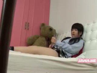 Søt seductive koreansk babe puling