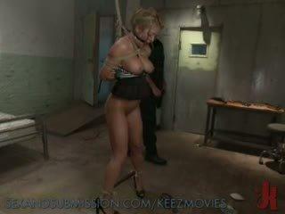 vibrator, torture, tied