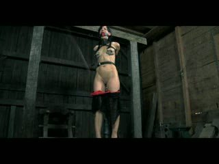 BDSM Slave Elise Graves Chained Whipped Electro Tormented and Impaled