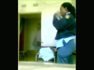 Black police officers boning while cities are being looted