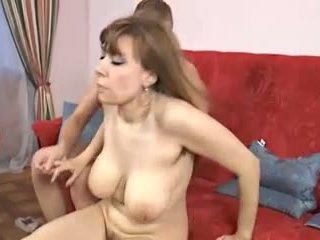बड़े स्तन, परिपक्व, कुत्ते शैली
