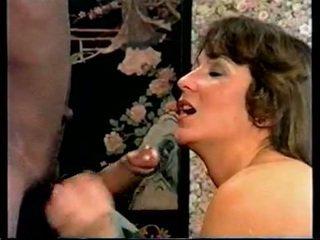 Retro ir-1970s scandinavian khiêu dâm to đen chuối