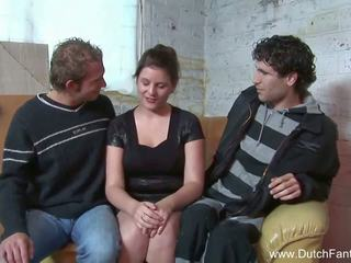 Random Dutch Threesome in Holland, Free Porn ea