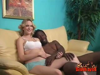 sexo en grupo, gran polla, interracial