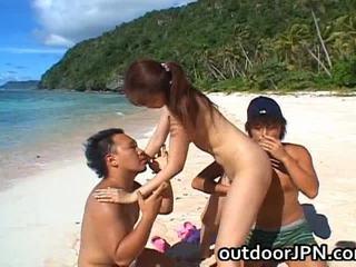 Asami ogawa aziýaly playgirl receives bang