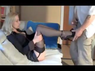 Sexy MILF Likes You to Cum on Her Feet Shoes and.