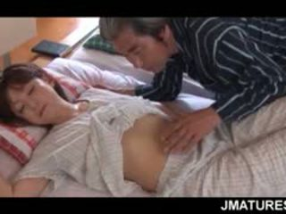 Mature Asian Housewife Given A Sweet Morning Pussy Lick