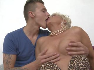 Taboo Sex with Mom Lea and Kinky Son, HD Porn e0
