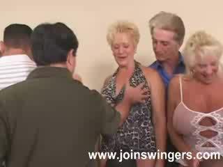 swingers, γιαγιά, ηλικιωμένος