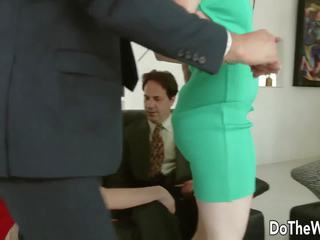 Sexy Slut Fucks as other Couple Watches, Porn 6f