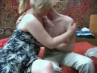 Oud mam met van russia