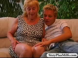 Chick boy fucking old prostitute