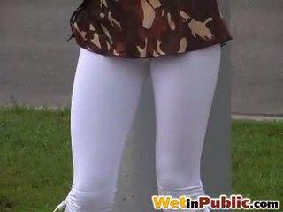 Pubblico bagnato leggings