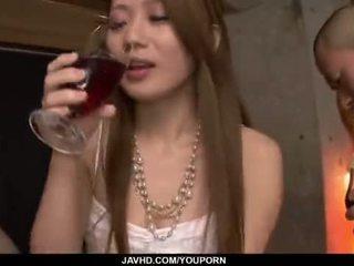 güzel göt, japon, öpme