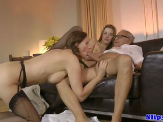 threesomes, vana + young, hd porn