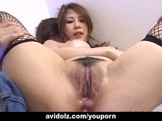 完美 hottie yuki aida gets 她的 屁股 toyed uncensored