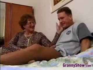 Garry mama gets fucked by grandson in law