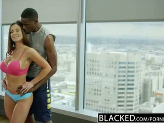 Blacked fitness babe kendra lust loves reusachtig zwart lul