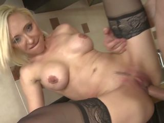 Taboo Sex on Kitchen with MILF and Son, Porn 0c