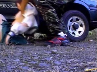 Twat 의 병아리 이다 caressed